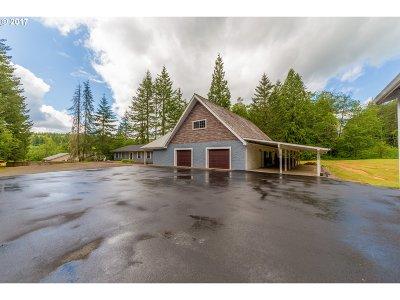 Clatskanie Single Family Home For Sale: 75535 Carlson Rd