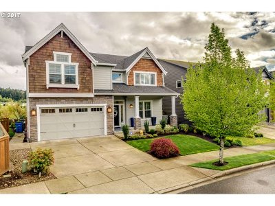 Camas WA Single Family Home Sold: $619,000