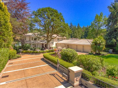 Lake Oswego Single Family Home For Sale: 4175 Southshore Blvd