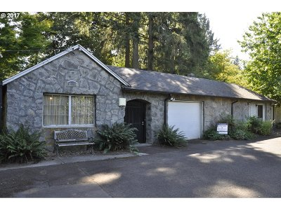 Lake Oswego Single Family Home For Sale: 18179 Pilkington Rd