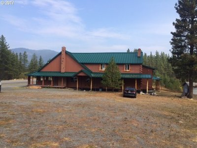 Grant County Single Family Home For Sale: 71795 Highway 26