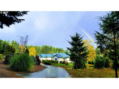 Multnomah County, Clackamas County, Washington County Single Family Home For Sale: 30205 SW Ladd Hill Rd