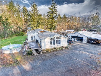Veneta, Elmira Single Family Home For Sale: 25066 Perkins Rd