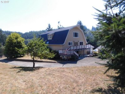 Coos Bay Single Family Home For Sale: 59334 Churchill Rd