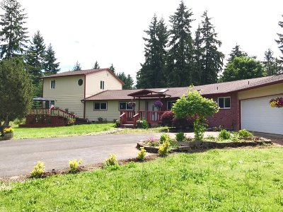 Molalla Single Family Home For Sale: 18752 S Munson Rd