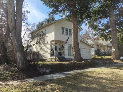 La Grande OR Single Family Home Sold: $167,000