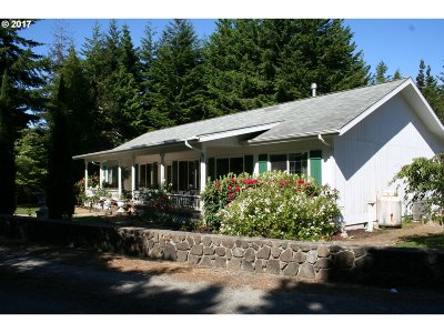 Bandon Single Family Home For Sale: 87859 Two Mile Ln