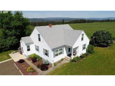 Elgin Single Family Home For Sale: 72002 Good Rd