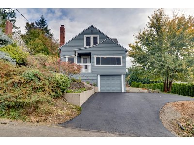 Portland Single Family Home For Sale: 1148 SW 57th Ave