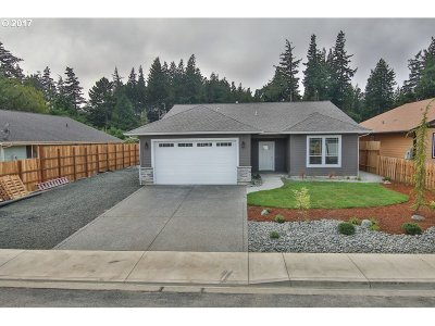 North Bend Single Family Home For Sale: 1642 Ash