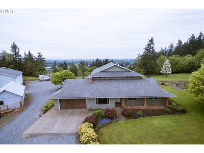 Canby Single Family Home Sold: 11832 S Union Hall Rd