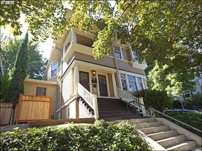 Portland Multi Family Home For Sale: 1536 SW Montgomery St
