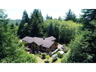 Coquille Single Family Home For Sale: 57357 Harlocker Hill Rd