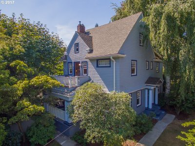 Multnomah County Single Family Home For Sale: 2123 NE 21st Ave