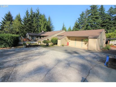 Coos Bay Single Family Home Bumpable Buyer: 61658 Old Wagon Rd