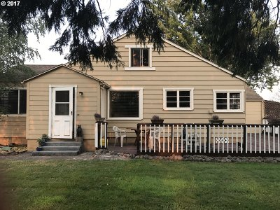 Cottage Grove, Creswell Single Family Home For Sale: 83902 Cloverdale Rd