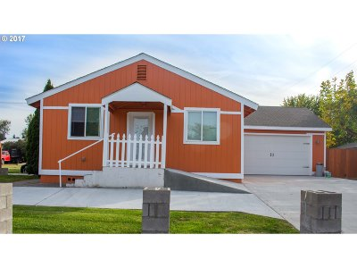 Hermiston Single Family Home For Sale: 715 W Highland Ave