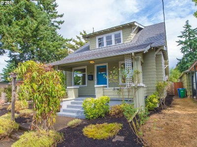 Portland Single Family Home For Sale: 434 NE 68th Ave