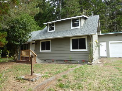 Single Family Home For Sale: 27641 Hwy 101