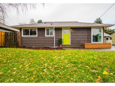 Portland Single Family Home For Sale: 7605 N Clarendon Ave