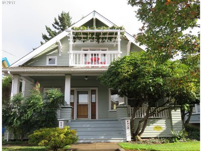 Portland OR Multi Family Home For Sale: $665,000