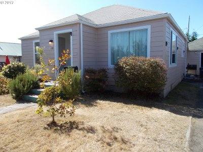 Coos Bay Single Family Home For Sale: 176 N Wasson