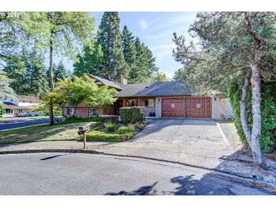 Single Family Home For Sale: 14310 SW Wilson Ct