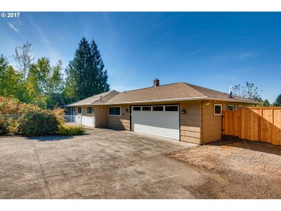 Single Family Home For Sale: 9228 NW Leahy Rd