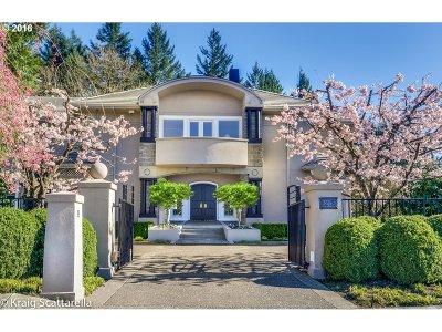 Portland Single Family Home For Sale: 1212 SW Fairfax Pl