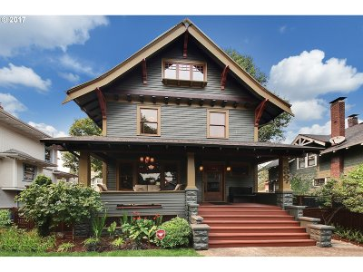 Single Family Home For Sale: 5907 NE Cleveland Ave