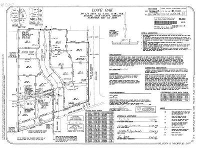Eugene Residential Lots & Land For Sale: Justine Ln #Lot 3