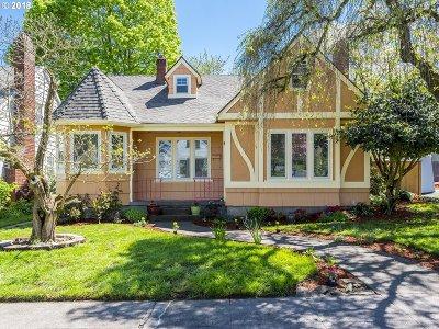 Portland Single Family Home For Sale: 4306 NE 41st Ave