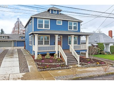 Portland Single Family Home For Sale: 6825 N Haight Ave