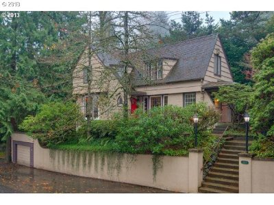 Portland Single Family Home For Sale: 2840 SW Talbot Rd