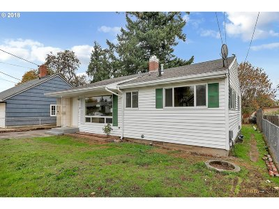 Single Family Home For Sale: 7214 SE 86th Ave
