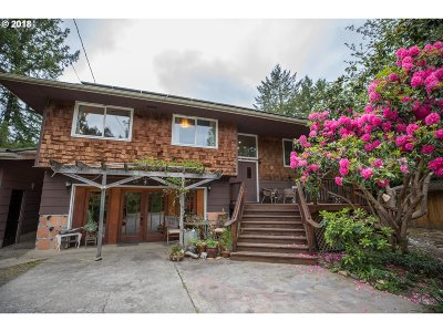 Coos Bay Single Family Home For Sale: 65431 Millicoma Rd