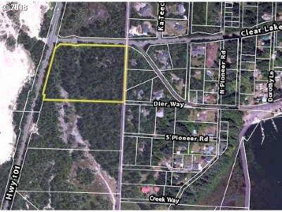 Florence Residential Lots & Land For Sale: Hwy 101 S #8