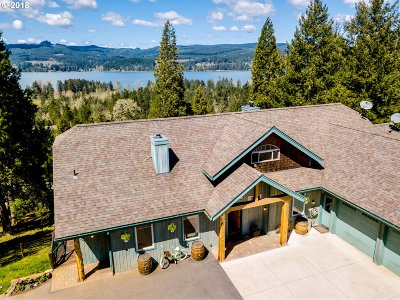 Cottage Grove, Creswell Single Family Home For Sale: 32655 Glaisyer Hill Rd