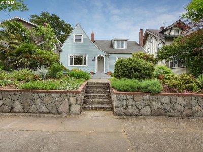 Portland Single Family Home For Sale: 2946 NE 12th Ave