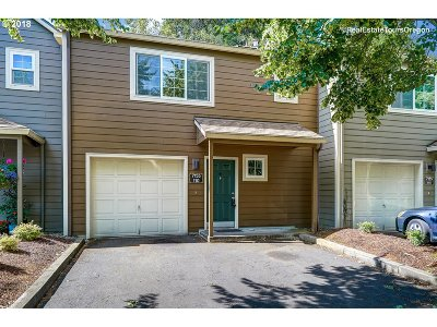 Tualatin Single Family Home For Sale: 7155 SW Sagert St #110