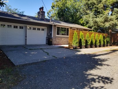 Multnomah County Single Family Home For Sale: 5845 SW Vermont St