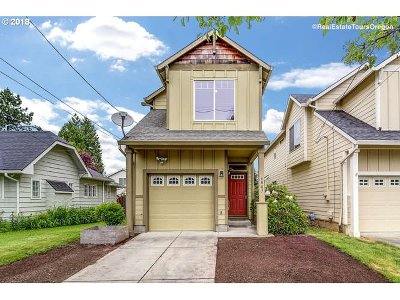 Portland Single Family Home For Sale: 6807 N Smith St