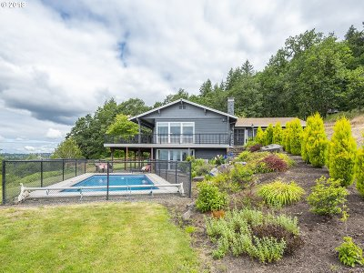 West Linn Single Family Home For Sale: 28500 SW Mountain Rd