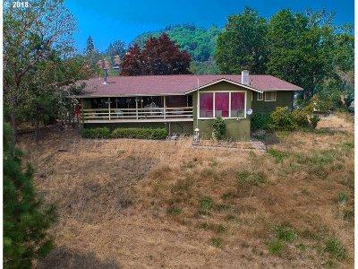 Roseburg Single Family Home For Sale: 6497 Garden Valley Rd