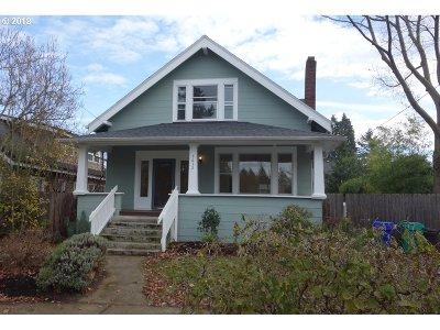 Portland Single Family Home For Sale: 5612 NE 31st Ave
