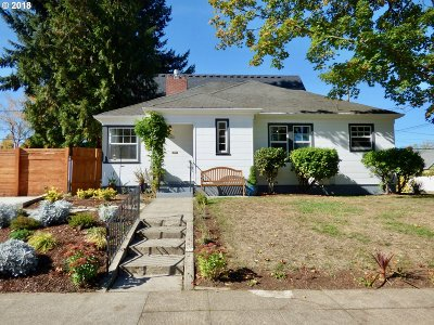 Single Family Home For Sale: 6347 NE 25th Ave