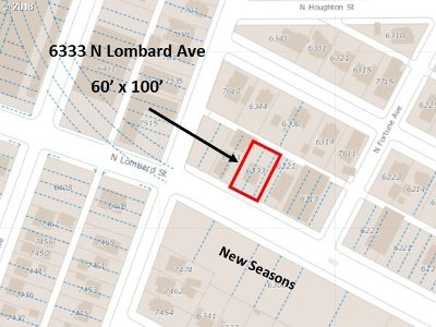 Portland Residential Lots & Land For Sale: 6333 N Lombard St