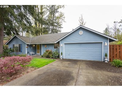 Milwaukie, Gladstone Single Family Home For Sale: 7515 SE Lillian Ave