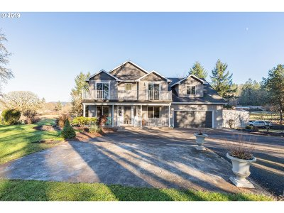 Clackamas County Single Family Home For Sale: 30953 S Wright Rd