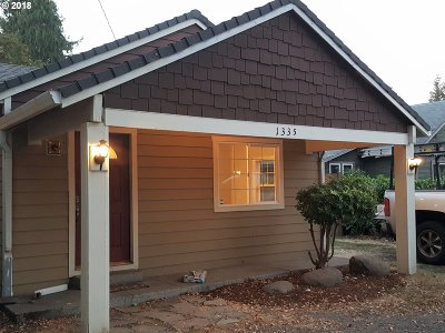 Washougal Single Family Home For Sale: 1335 G St